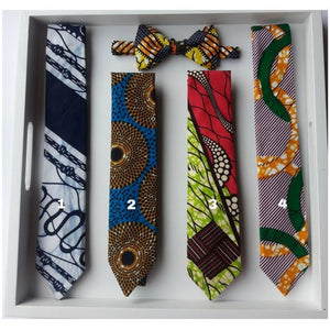 Neck tie with matching pocket square