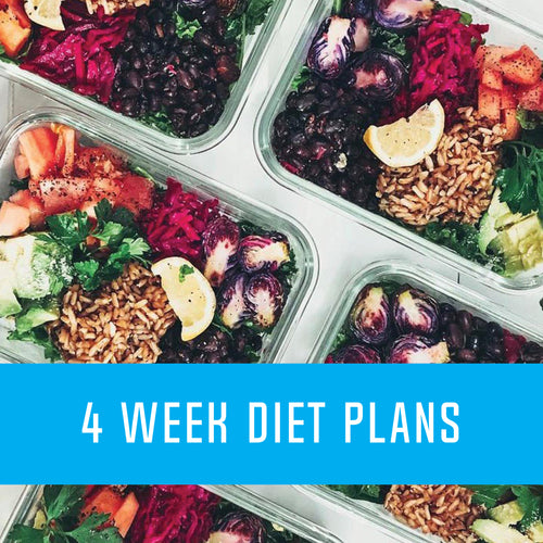 4 Week Custom Diet