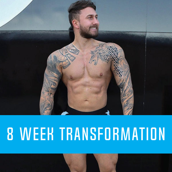 8 Week Body Transformation (ONE TIME PAYMENT)