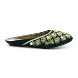 Ornesha Open-back Mule-type Ethnic-Flats for Women