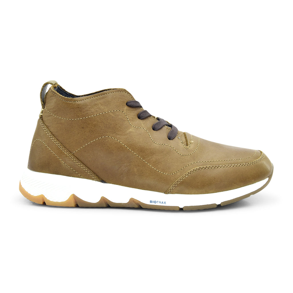 Hush Puppies TS Field Sprint High Cut Shoe in Brown - batabd