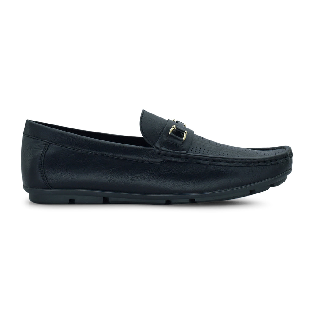 Bata Casual Moccasin in Black