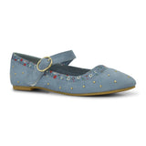 Rabia Girl's Ballet Flat Shoe by Bubblegummers