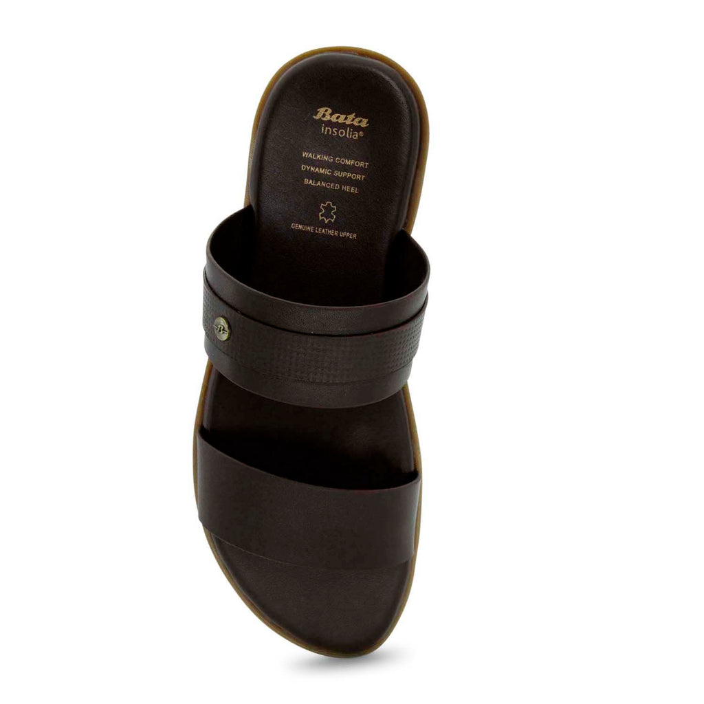 Bata Insolia Slide-Style Sandal for Men