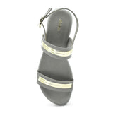 Ladies' Hook & Loop Sandal by Bata - batabd