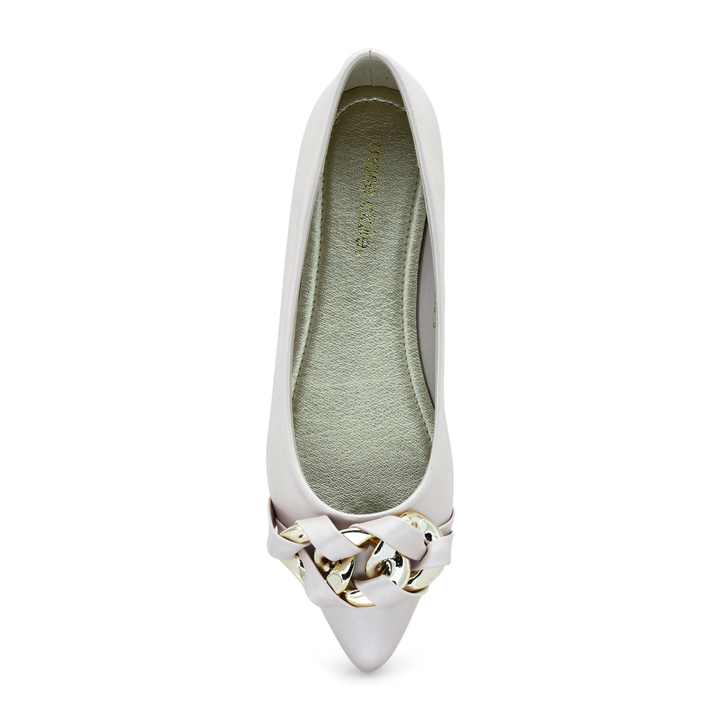 Rene Pointy Ballet Flat by Marie Claire - batabd