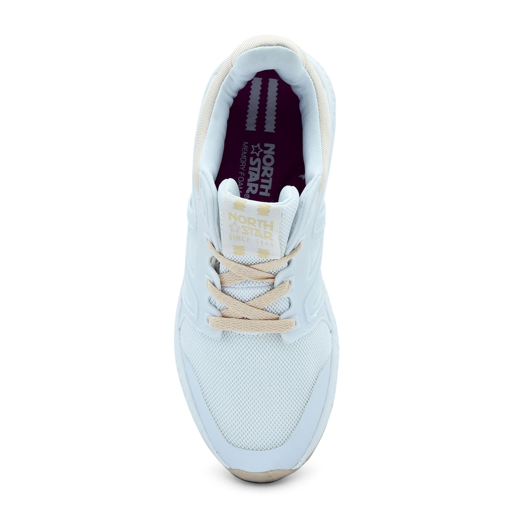 North Star Tora White Sneaker - batabd