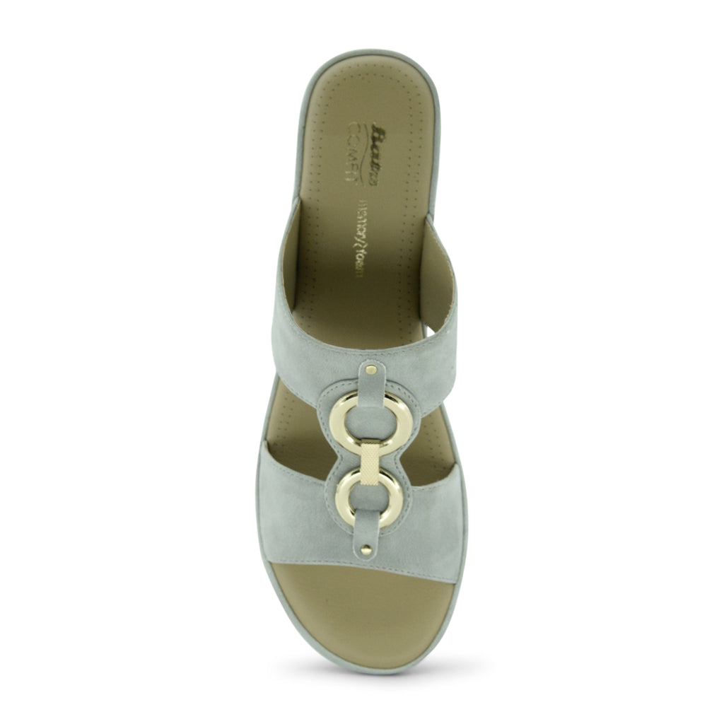 Bata Hope Low-Heel Wedge Sandal for Women