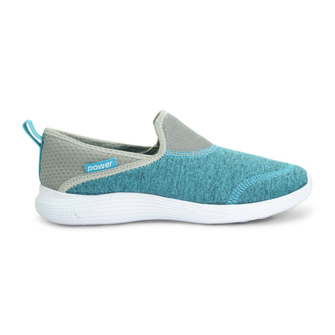 Power Walking Sports Shoe in Blue for Women