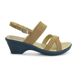 Maze Low-Heel Strap Sandal for Women - batabd