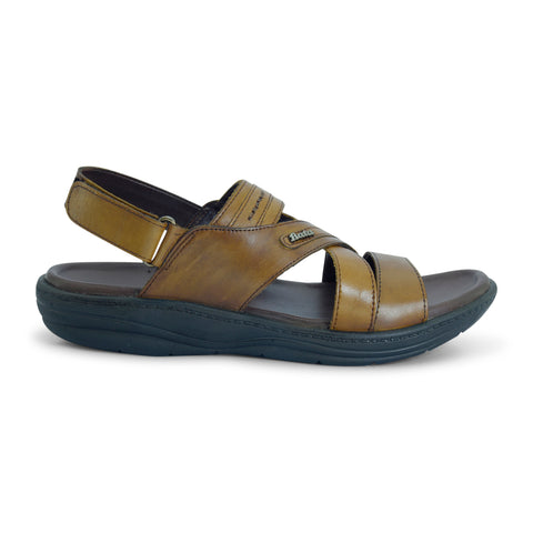 Nuvista Strappy Leather Sandal for Men - batabd