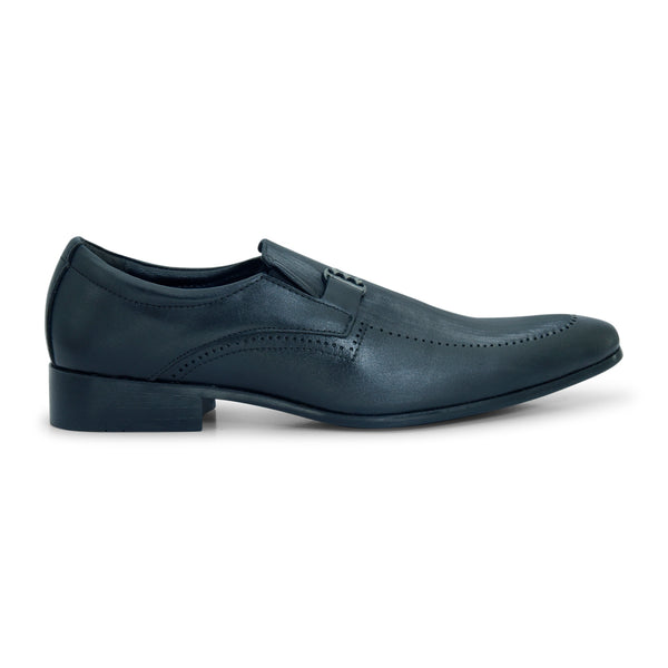 Spike Black Stylish Formal Shoe for Men - batabd