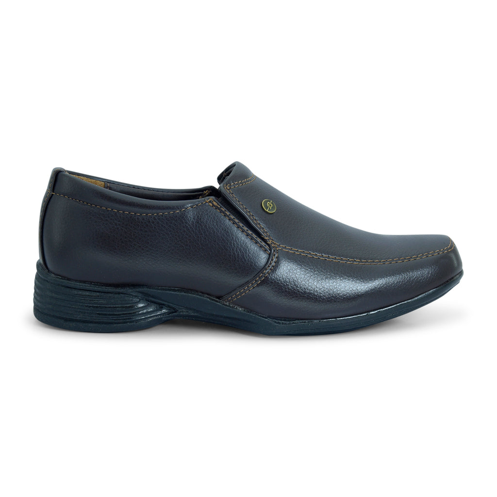 Bata Men's Slip-on Formal Shoe in Black - batabd