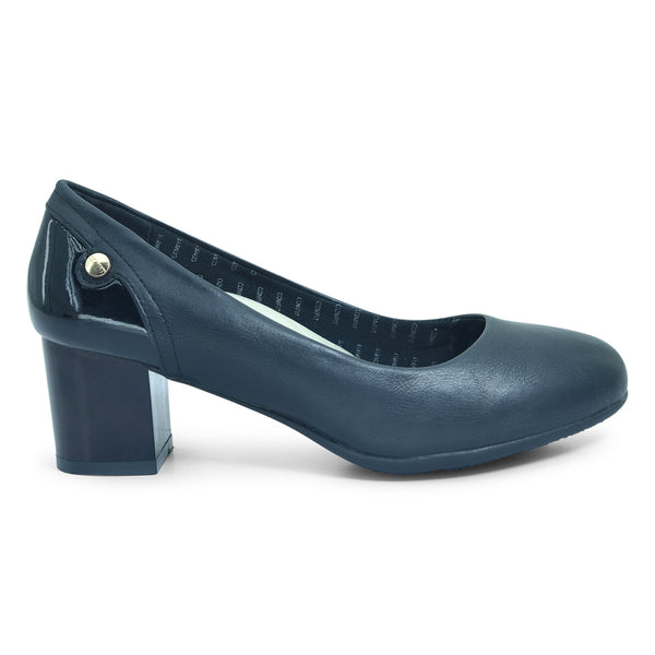 Capriana Black Pump Shoe for Women - batabd