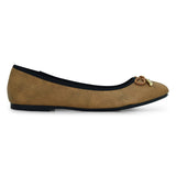 Karen Brown Ballerina by Bata for Women