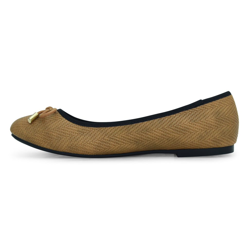 Karen Brown Ballerina by Bata for Women - batabd