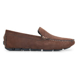 Bata Brown Suede Loafer - batabd