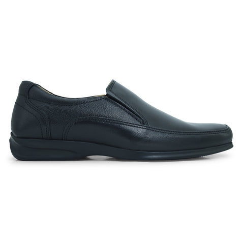 Zone Slip-on Formal Shoe in Black by Bata