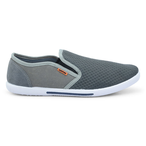Gray Casual Shoes For Men - batabd