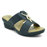 Bata Black Sandals For Women - batabd