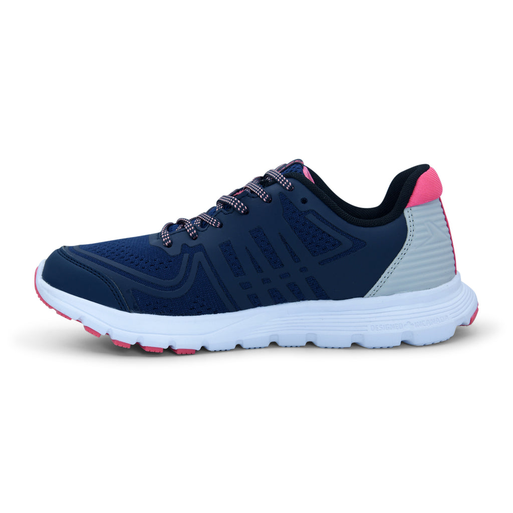Navy Power Sporty Sneaker for Women - batabd