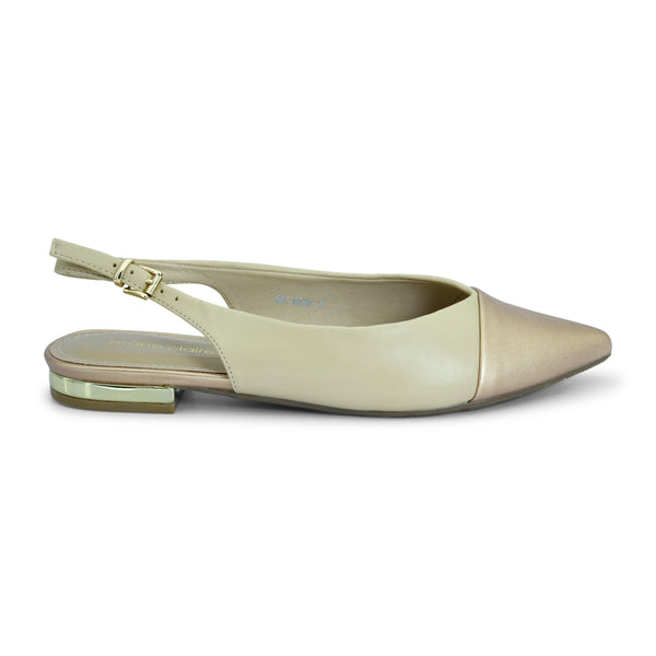 Marie Claire Sling-back Mules - batabd