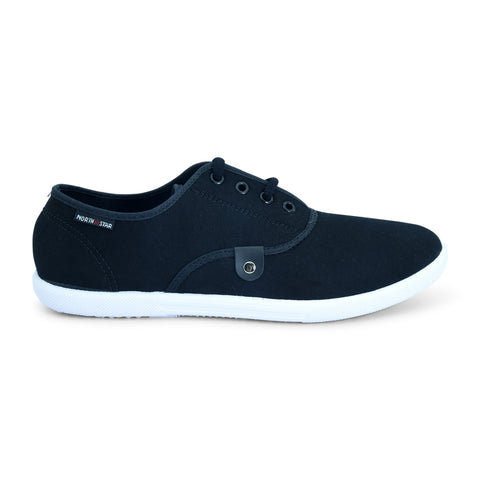 Black Casual Shoe by North Star - batabd