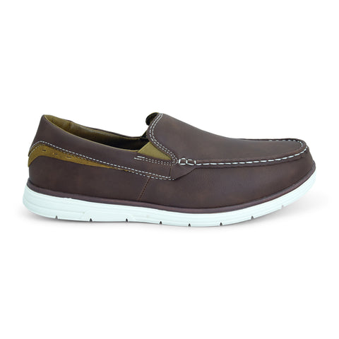Brown Loafer for Men by Bata - batabd