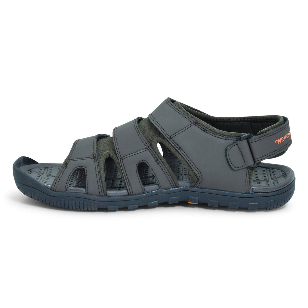 Weinbrenner Jovetic Brown Velcro Sandal for Men - batabd