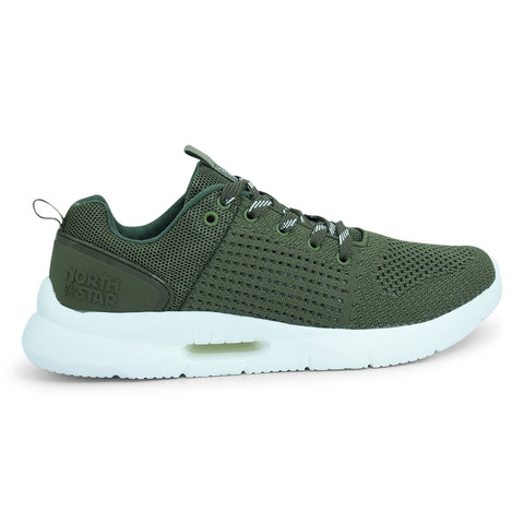 North Star Santiago Casual Shoe in Green - batabd