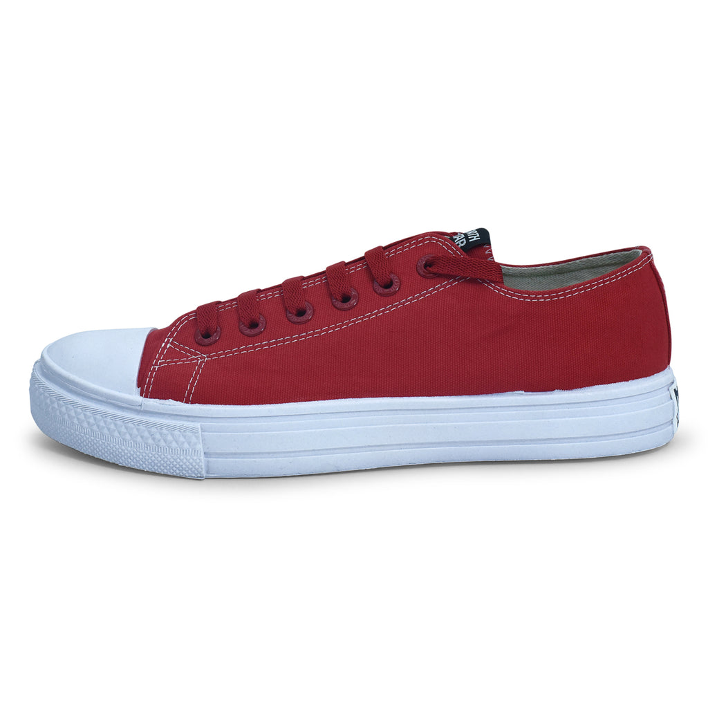 North Star Essential Sneaker in Red for Men - batabd