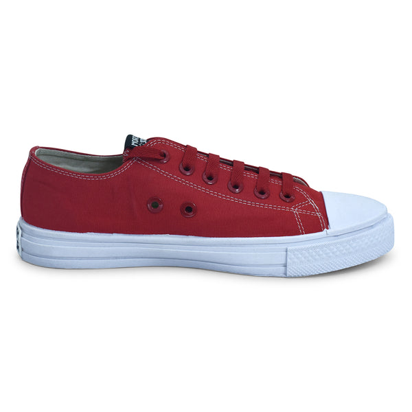 North Star Essential Sneaker in Red for Men