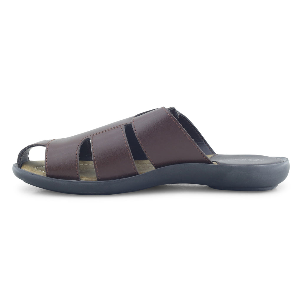 Brown Sandals For Men - batabd