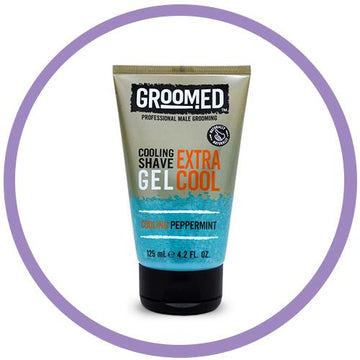 Groomed for Men Cooling Shave Gel 125mL