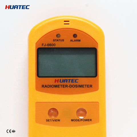 Radiation Monitor - FJ-6600 Radiation Monitoring Test Device Personal Dosimeter