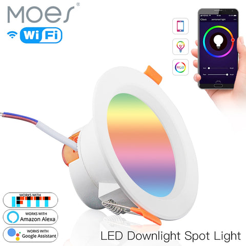 Moes Smart WiFi LED 7w Downlight