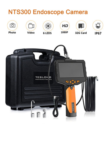 "Borescope Inspection Camera - NTS300 4.3"" LCD Monitor"