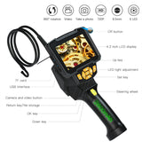 Industrial Borescope Inspection Camera with 360 Degree Rotation