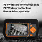 Industrial Borescope with 5.5mm Dual-lens, 4.3 Inch IPS Screen
