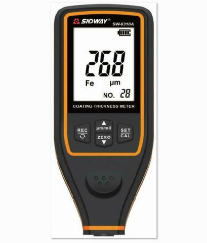 Coating Thickness Gauge - SNDWAY SW-6310A Digital Coating Thickness Gauge