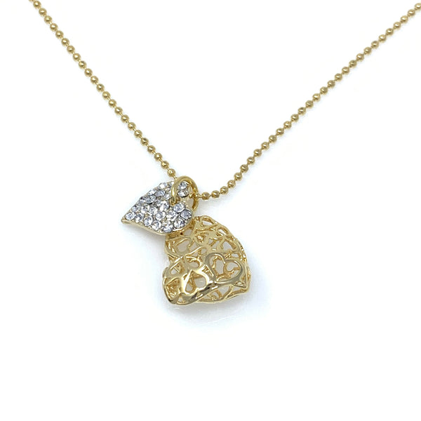 Heart Shape Pendant Necklace, Necklaces - www.thestoneflower.com