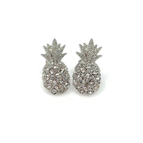 Pineapple Post Earrings, Earrings - www.thestoneflower.com