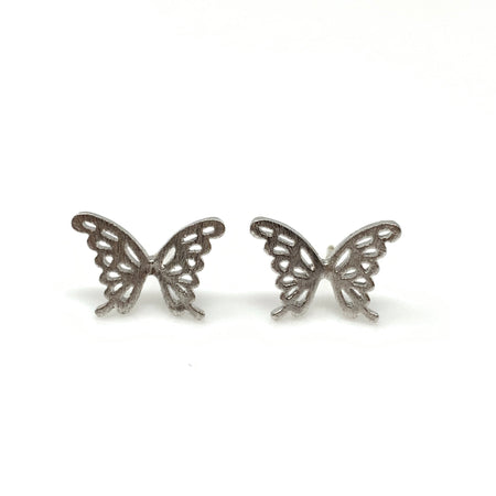 Double Triangle Post Earrings