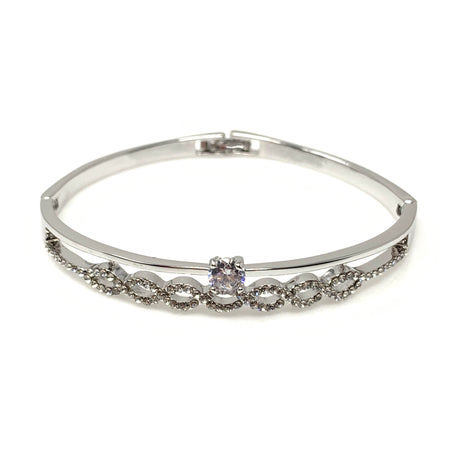 Triple Swarovski Crystal Bangle Bracelet