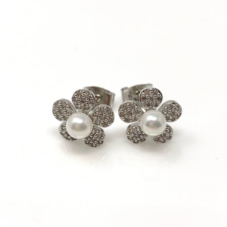 Hollow Pineapple Stud Earrings