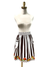 Cute Black Striped Waist Apron, Apron - www.thestoneflower.com