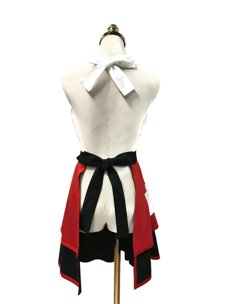 Cute Foxy Double-Layered Apron, Apron - www.thestoneflower.com