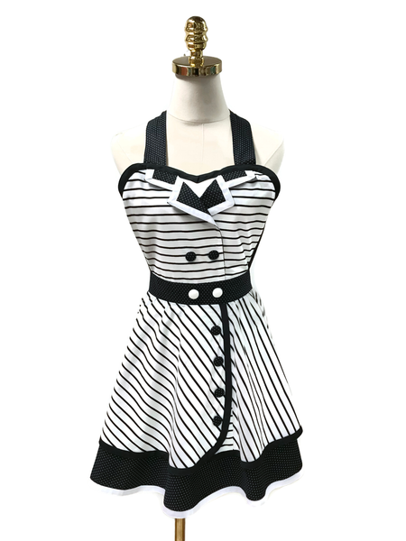 Sassy Hostess Double-Layered Apron