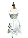 Cute Polka Dot Double-layered Apron, Apron - www.thestoneflower.com