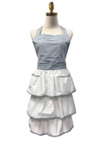 Classy Striped Triple-Layered Apron, Apron - www.thestoneflower.com